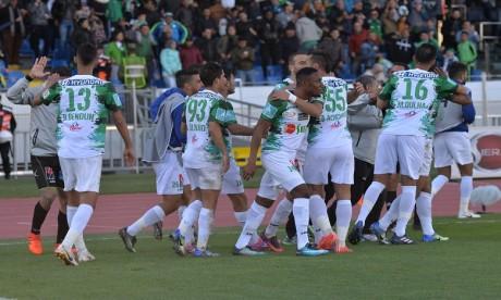 Le Raja s'impose face à l'Olympique Khouribga (4-3) et s'empare des commandes