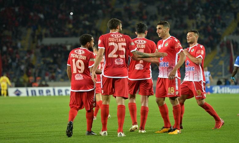 Le Wydad de Casablanca s'impose face au Rapide Oued Zem (3-1)