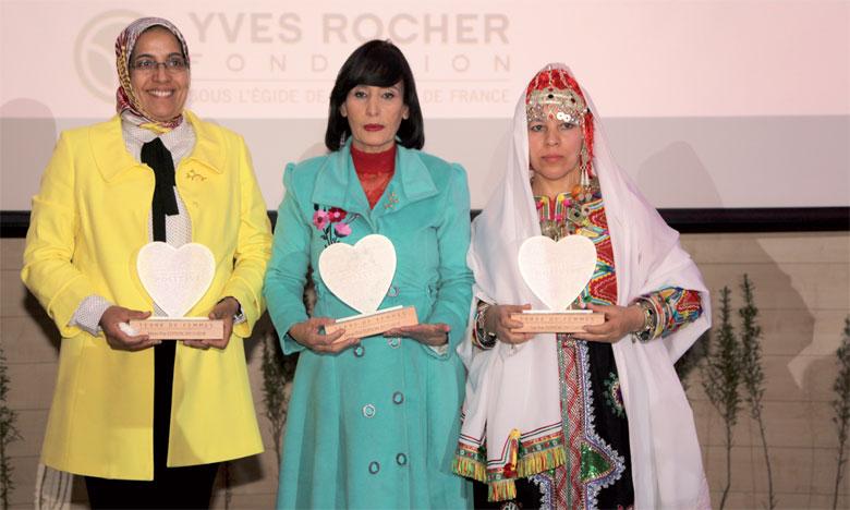 Trois Marocaines récompensées  pour leurs projets environnementaux