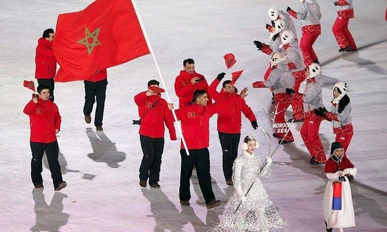 L'équipe nationale qui prend part aux Jeux Olympiques d'hiver de Pyeongchang se compose des athlètes Adam Lamhamedi (ski alpin) et Samir Azzimani (ski de fond). Ph : DR