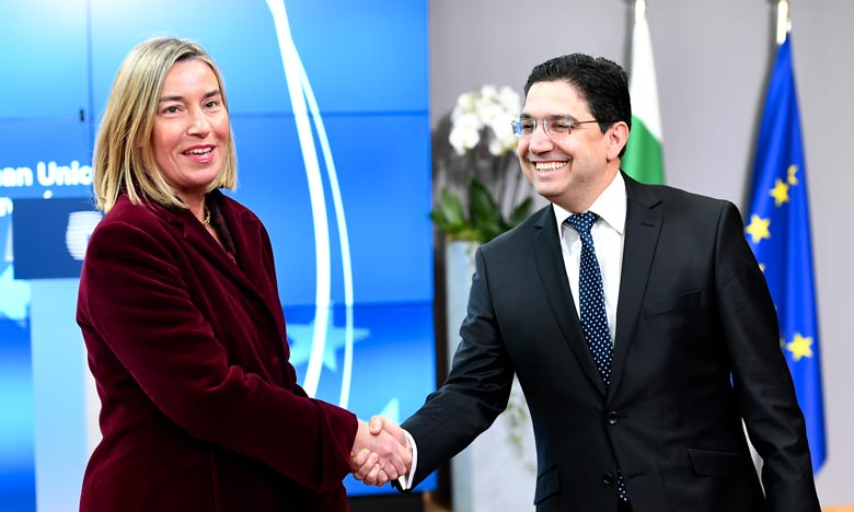 Mogherini : L'UE et la Ligue arabe «ont une convergence complète des objectifs»