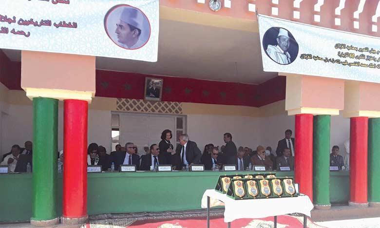 La population de M'hamid El Ghizlane renouvelle son attachement indéfectible au Glorieux Trône alaouite