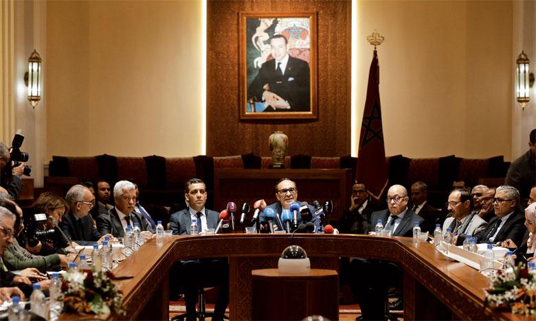 Habib El Malki fait le point sur le chantier de la modernisation de l'institution législative