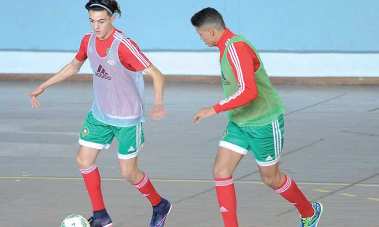 La sélection nationale U18  affronte son homologue  angolaise à Rabat