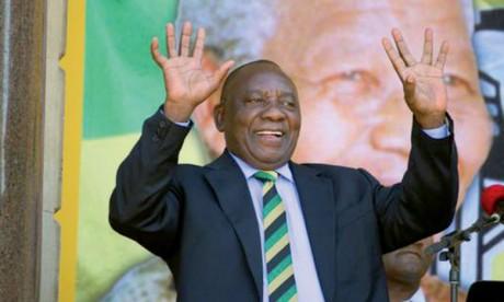 Cyril Ramaphosa prend les rênes  du pouvoir