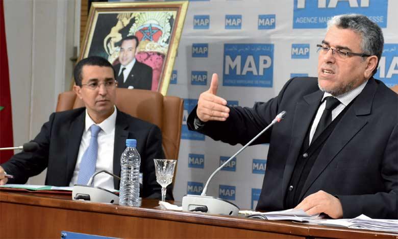 M. Ramid a insisté sur la poursuite du dialogue concernant certains points de divergence comme la peine de mort. Ph. Kartouch
