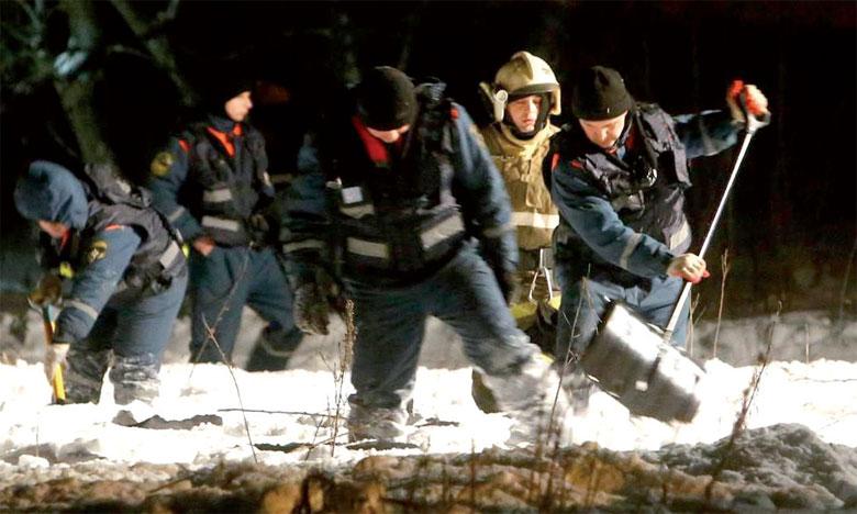 La neige complique l'enquête sur le crash  d'un Antonov qui a fait 71 morts