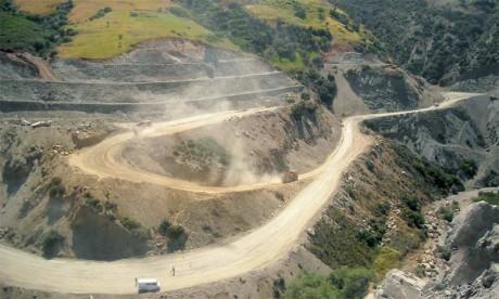 Seulement 1.300 km de routes ont été construits chaque année au lieu de 1.500 annoncés initialement