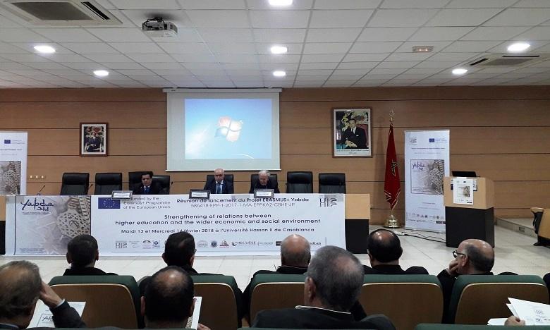 Le consortium de ce projet se compose de 14 partenaires du Maroc, de l'Algérie, de la Tunisie, de la Grèce, de la Belgique et de la France.