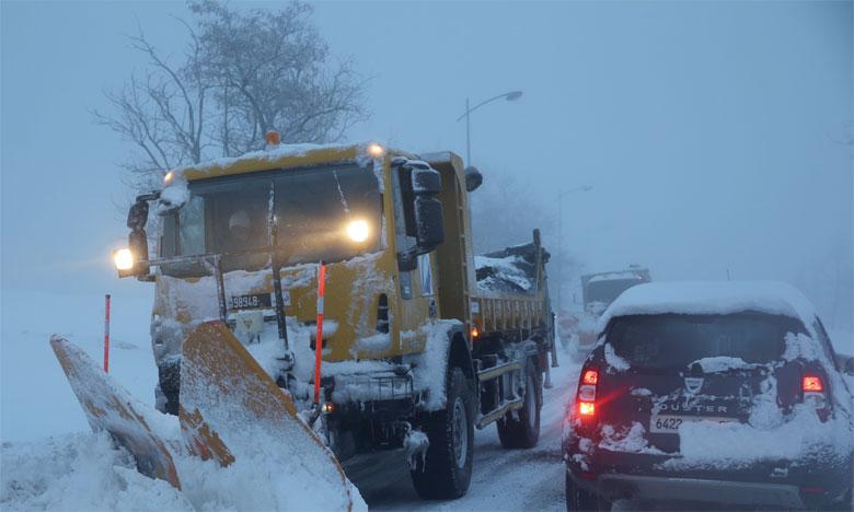 Le ministère de l'Équipement a ouvert quelque 5.886 km de routes à la circulation