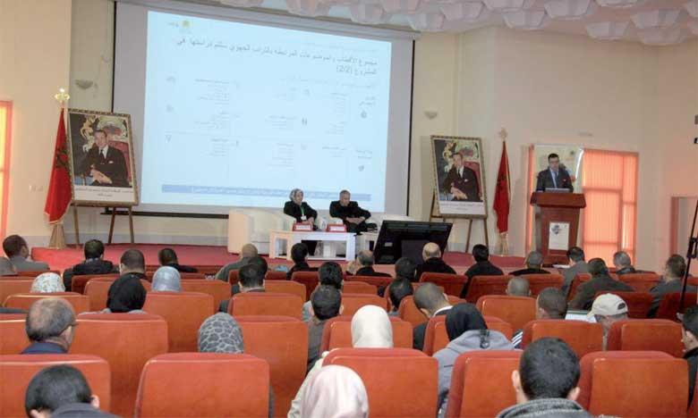 Drâa-Tafilalet : concertations autour du développement et de l'aménagement du territoire de la région