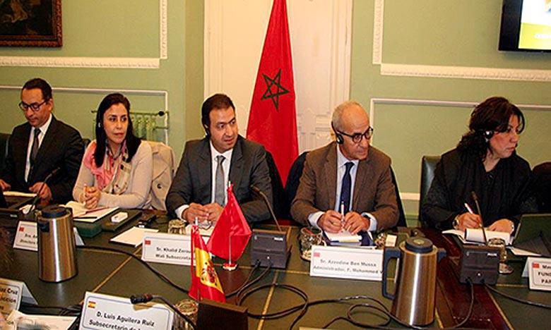 La Commission mixte maroco-espagnole réunie à Madrid