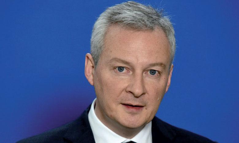 Le ministre français de l'Économie et des Finances, Bruno Le Maire.