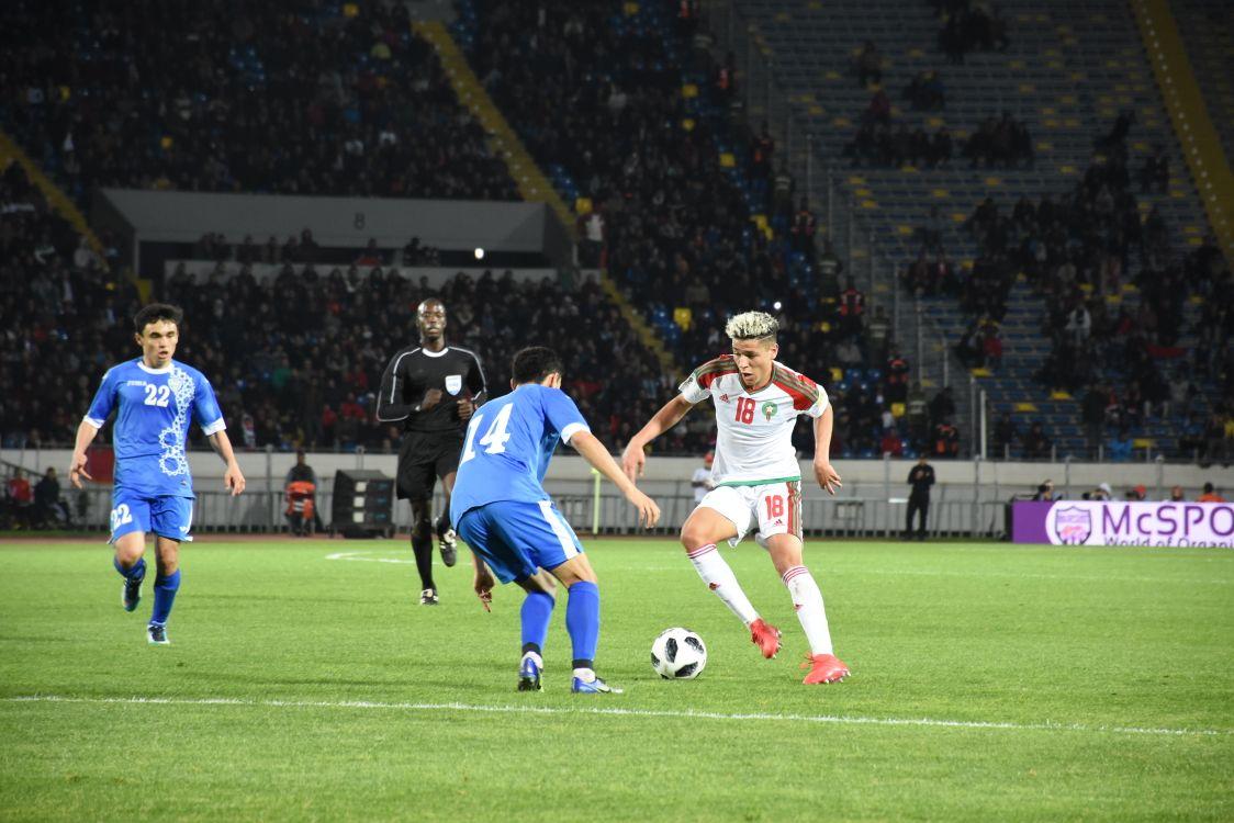 Victoire du Maroc face à l'Ouzbékistan