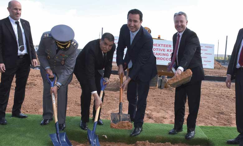 Premiers coups de pioche pour l'usine  marocaine de Nexteer