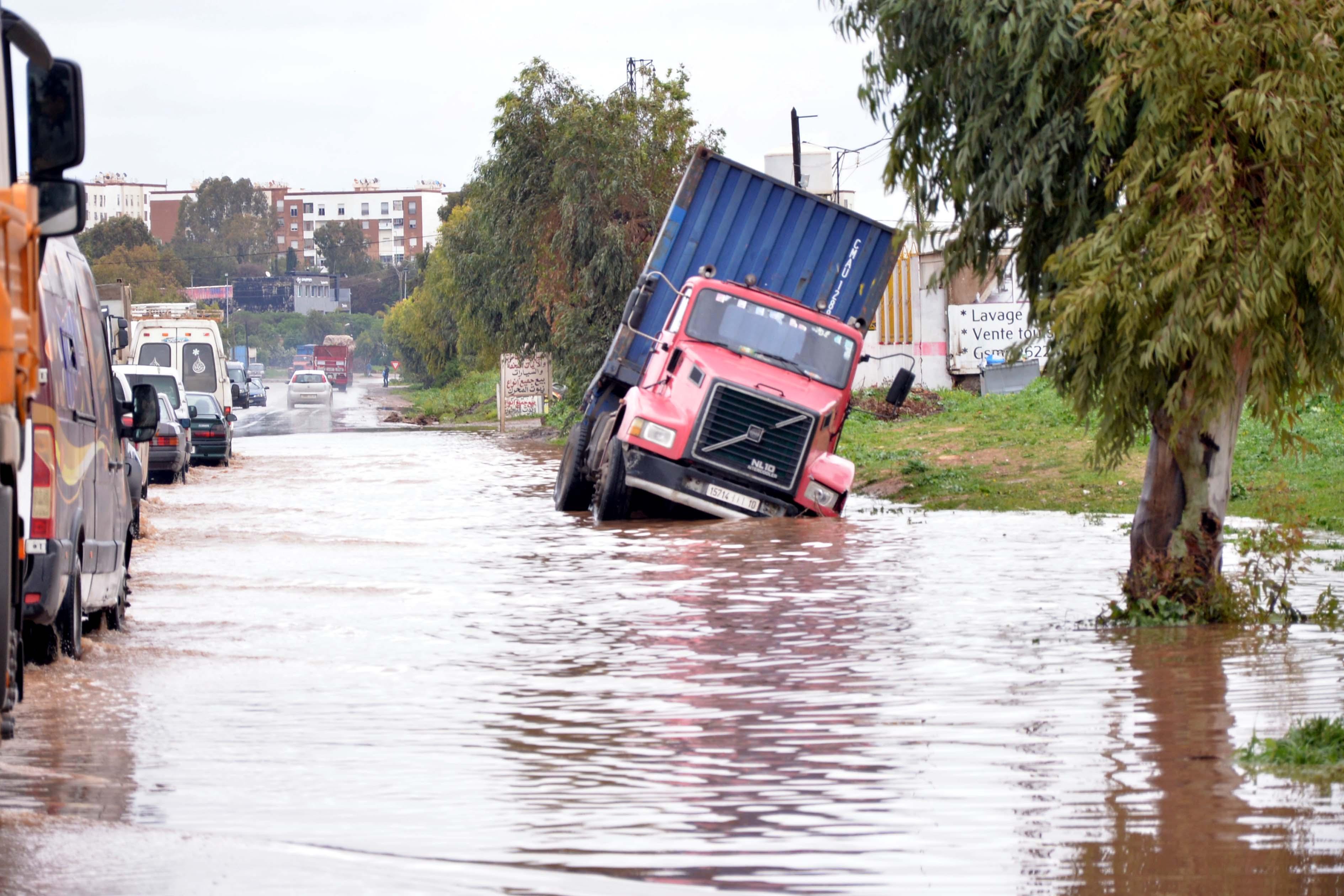 Pluies et inondations à Casablanca