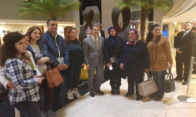 A Brasilia, le chef du gouvernement a rencontré quelques représentants de la communauté marocaine établie au Brésil. Ph. DR