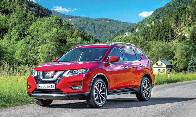 Le Nissan X-Trail/Rogue est le SUV le plus vendu au niveau mondial.
