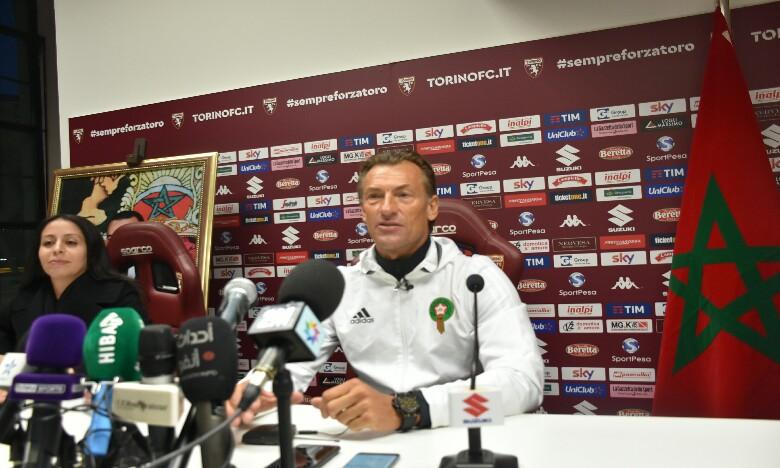 Hervé Renard : «On s'attend à un match relevé contre la Serbie»