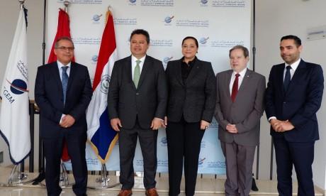 La Présidente de la CGEM reçoit le ministre de l'Industrie et du commerce du Paraguay