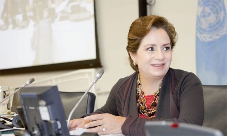 Patricia Espinosa, secrétaire exécutive de l'ONU-Climat. Ph. DR