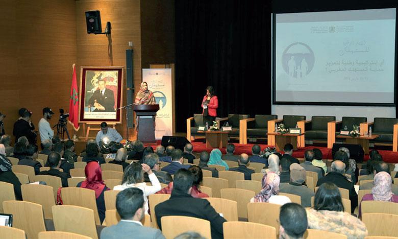 Rakiya Eddarhem, secrétaire d'État chargée du Commerce extérieur, a souligné l'engagement soutenu du ministère et de ses partenaires en faveur de la protection du consommateur.