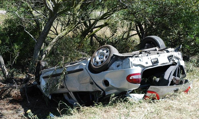 Trois morts et deux blessés dans un accident de la circulation