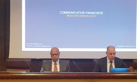 HPS a présenté ses résultats mercredi dernier à Casablanca.Ph. A.M.