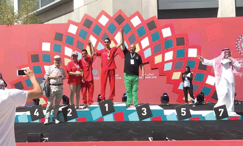 Le Maroc décroche 14 médailles  lors des 2 premières journées