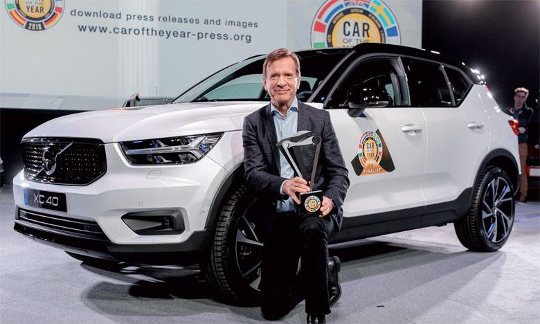 Le Volvo XC40 élu Voiture européenne de l'année 2018