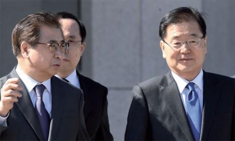 L'envoyé sud-coréen salue le «grand rôle» de la Chine