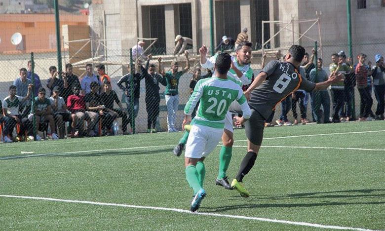 Nahda Zemamra à deux doigts  de la deuxième division