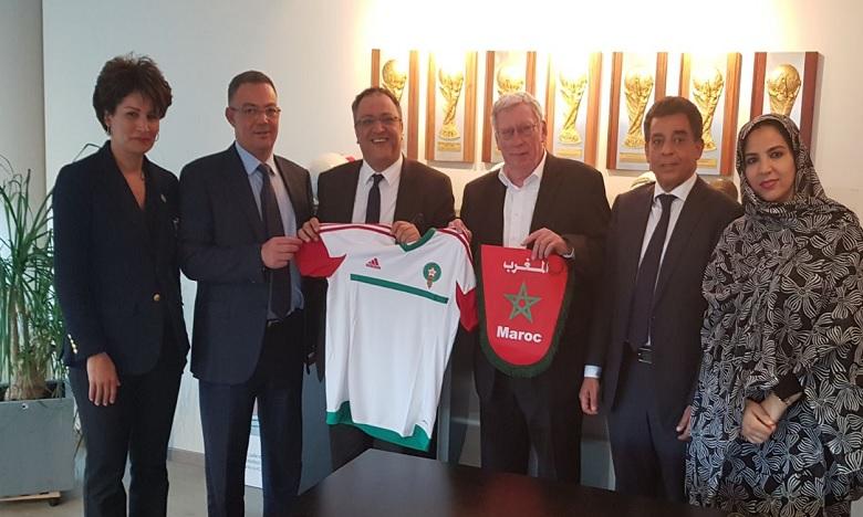 La Belgique soutient la candidature du Maroc pour l'organisation du Mondial 2026