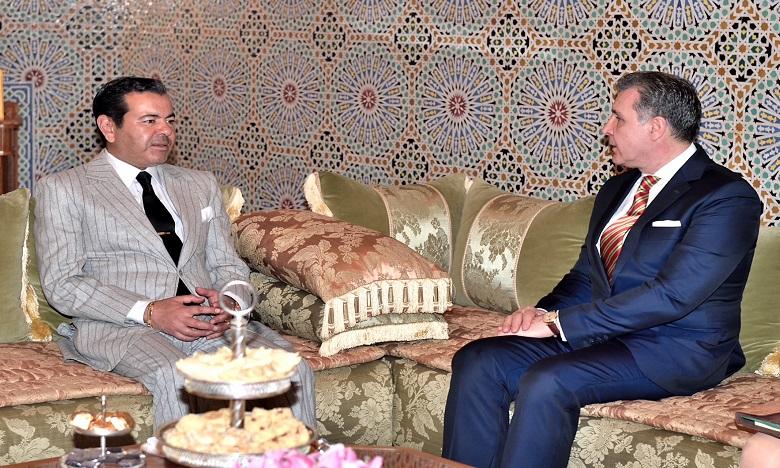 Son Altesse Royale le Prince Moulay Rachid reçoit SAR le Prince Radu de Roumanie