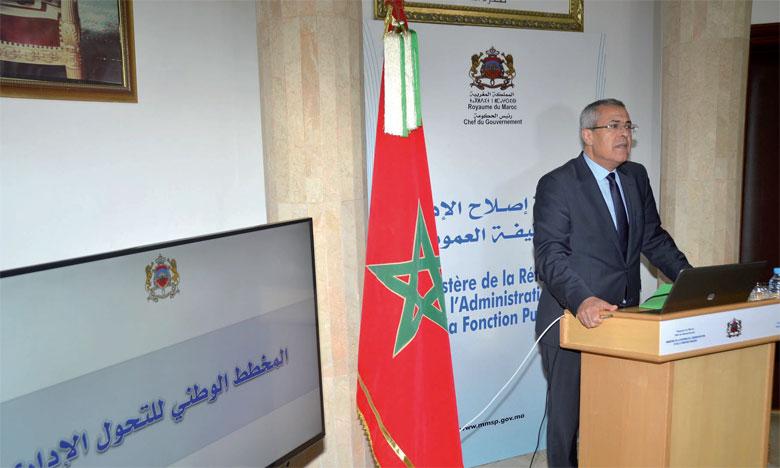 Mohamed Ben Abdelkader décline les quatre  piliers de la réforme