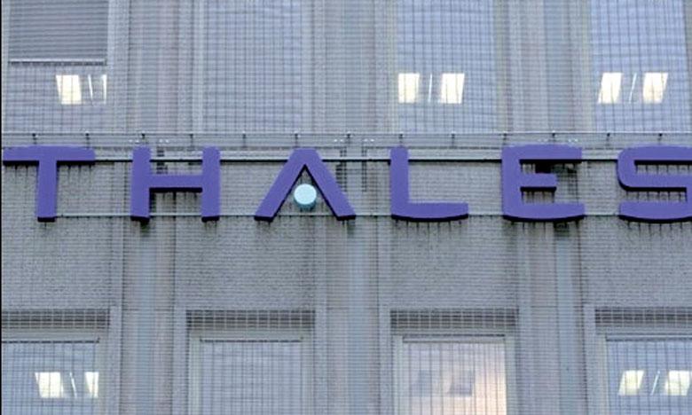 Le chiffre d'affaires de Thales devrait dépasser les 5% prévus en moyenne pour la période 2016-2018.                                                                                        Ph.AFP