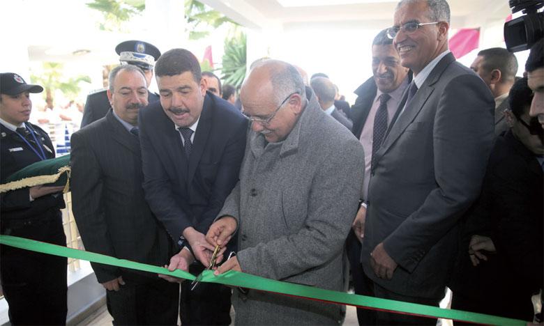 Inauguration de l'arrondissement de police de Lahraouyine
