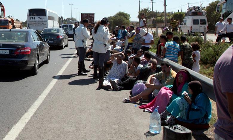 Trois morts dans un accident de la route près de Ben Ahmed