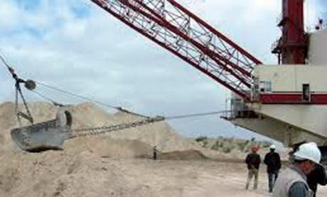 Les mines carburent en 2017