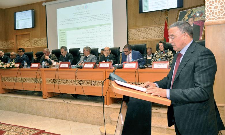Le Conseil de la région de Marrakech-Safi se mobilise  autour du développement régional