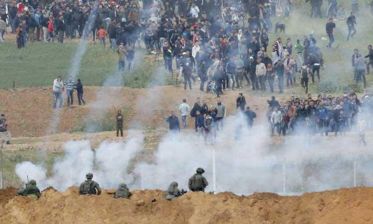 Au moins six Palestiniens tués par l'armée  israélienne lors d'affrontements à la frontière