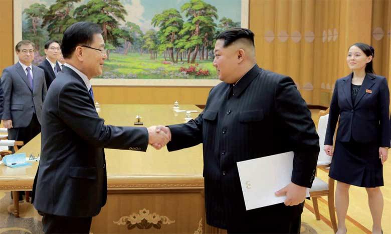 Les deux Corées se retrouveront pour un sommet rarissime le 27 avril prochain