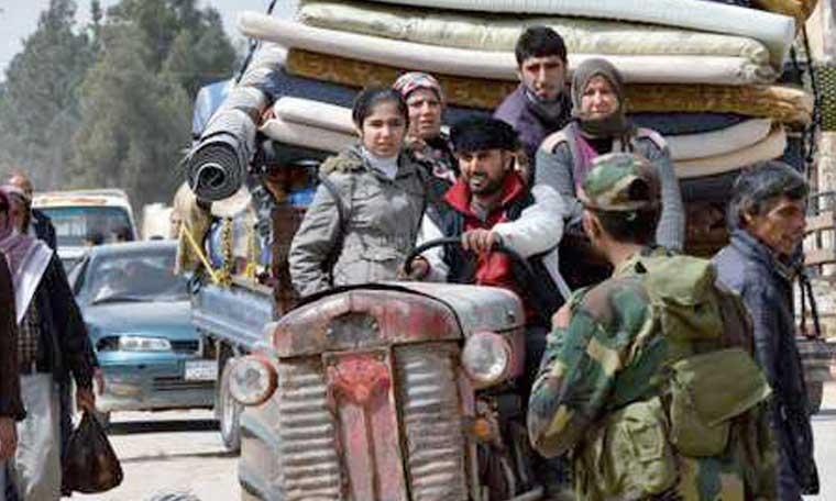 Moscou annonce  un ultime accord dans  la Ghouta, les rebelles  démentent