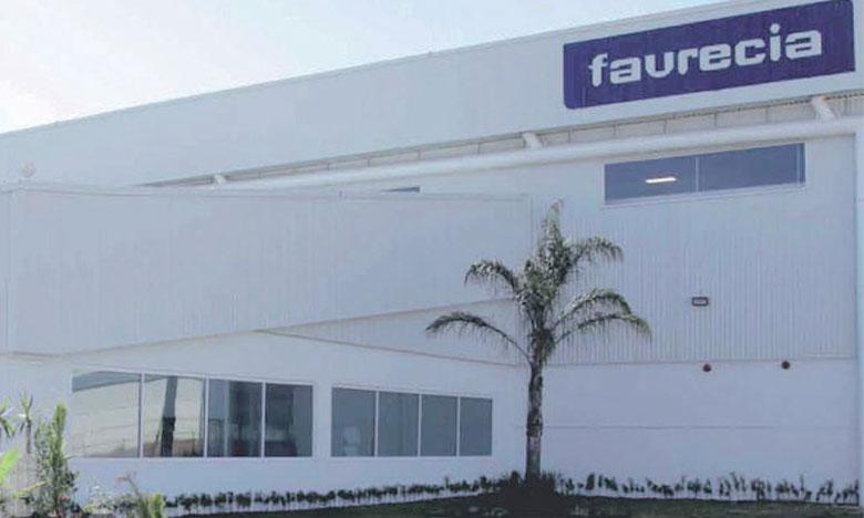 Faurecia dispose de deux sites de production au Maroc: l'un à Kénitra, l'autre à Salé.
