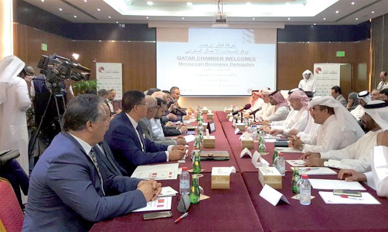 La délégation marocaine était constituée de chefs d'entreprises opérant dans plusieurs secteurs.