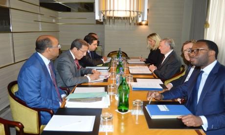 Discussions bilatérales entre une délégation marocaine et l'envoyé personnel du SG de l'ONU