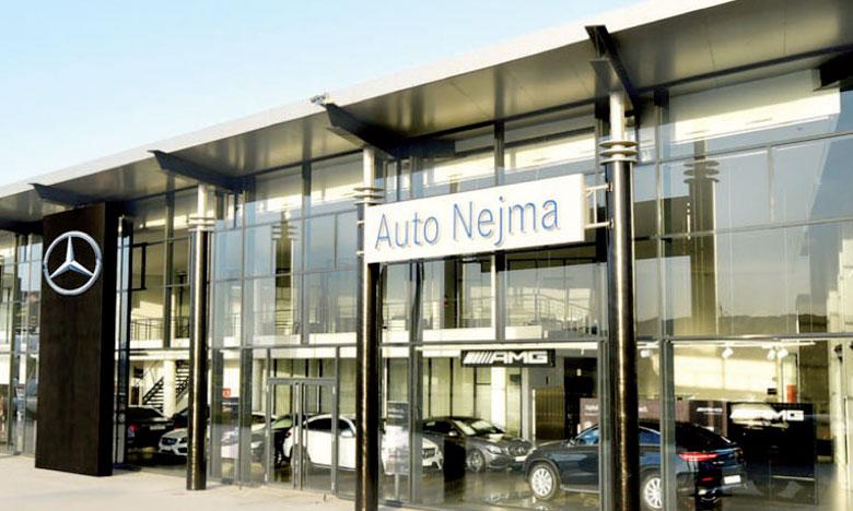 Bonnes performances2017  pour Auto Nejma