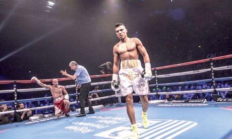 Cinquième victoire  par KO de Mohamed Rabii