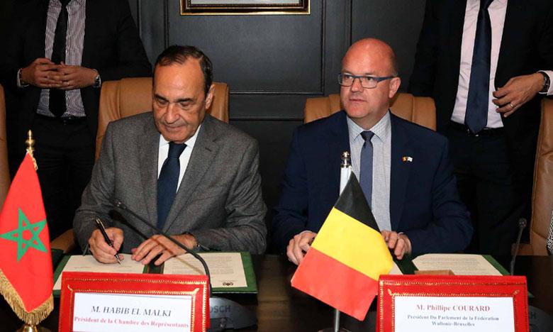 Signature d'un mémorandum d'entente entre la Chambre des représentants et le parlement de la Fédération Wallonie-Bruxelles