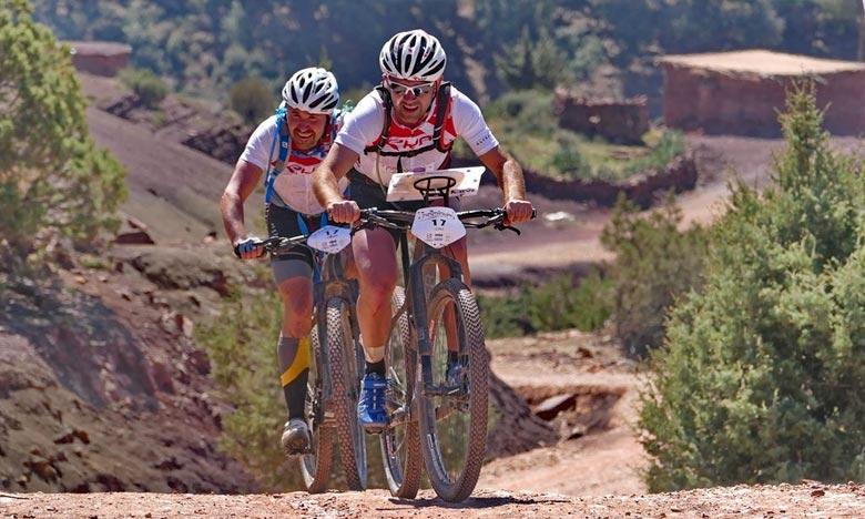La «Transmarocaine multisports» s'adresse aux sportifs amateurs et professionnels souhaitant mesurer leur endurance et leur sportivité, en équipe et découvrir le Maroc dans un esprit solidaire. Ph : DR